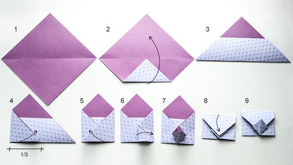 Cara Membuat Origami Amplop Lucu Dan Unik Tutorial